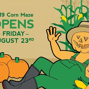 The 2019 McNab's Corn Maze opens on August 23rd