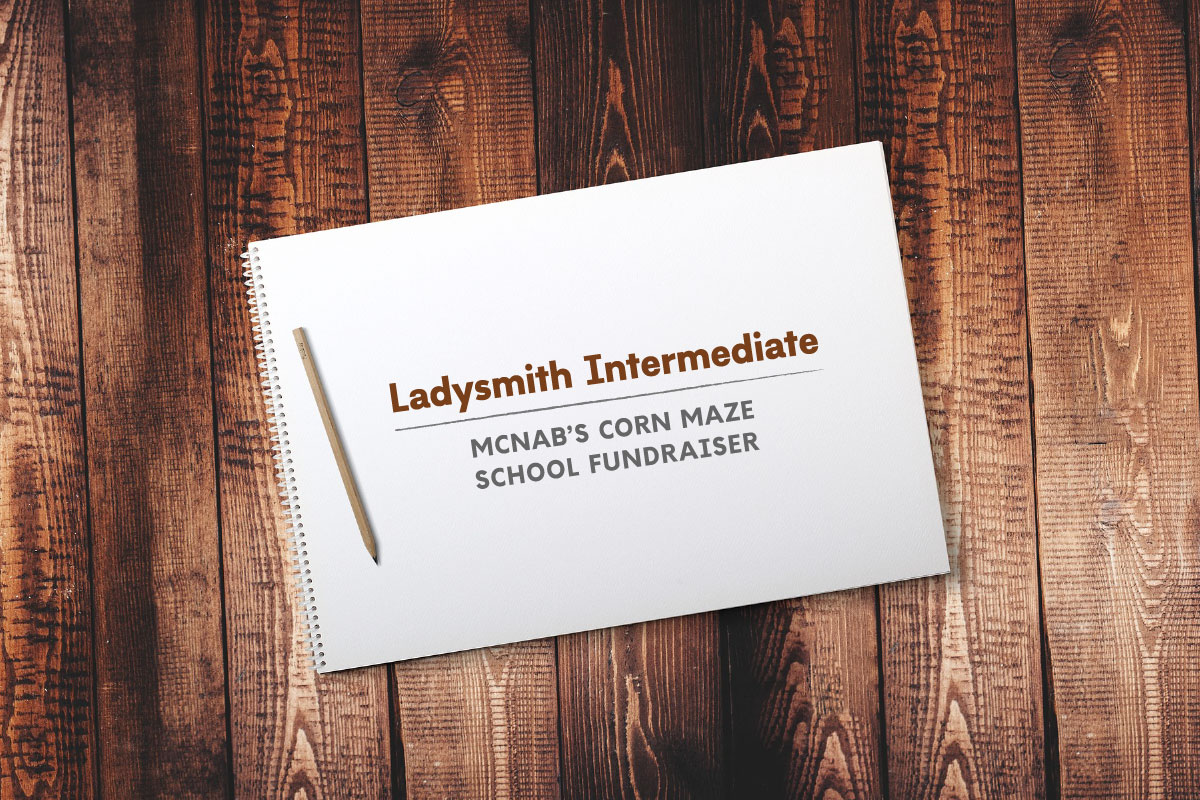 Join us on October 15th, 2017 for a fundraiser in support of Ladysmith Intermediate School